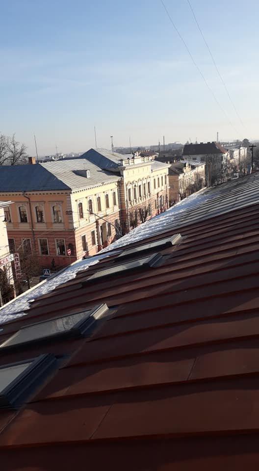 Покрівельні роботи у Чернівцях та області