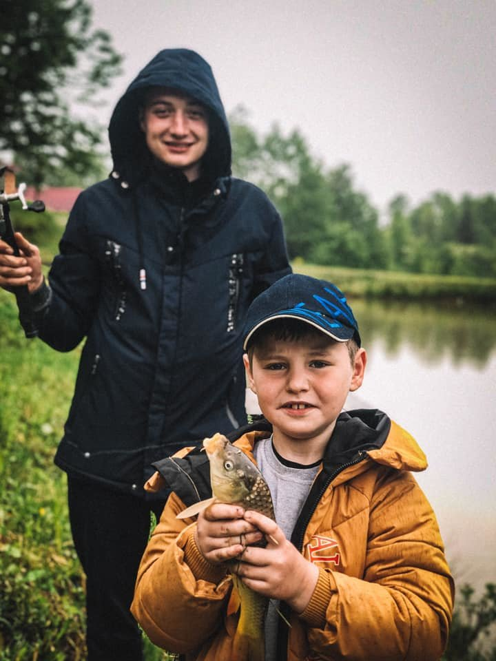 Рибалка Чернівці, Криївка у ставка