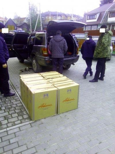В селі на Буковині  невідомих зловили на контрабанді  (фото), фото-1