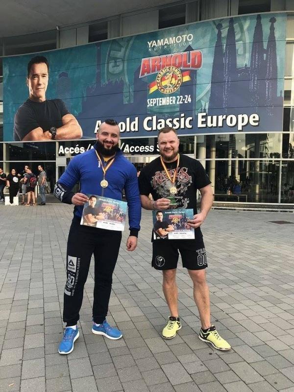 Чернівецькі стронгмени відзначилися на престижному турнірі Arnold Classic в Барселоні, фото-3