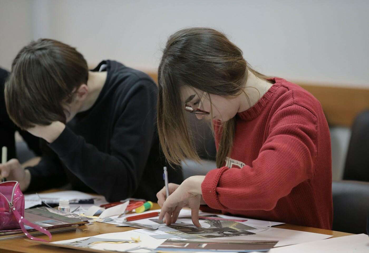 В рамках студентського конкурсу «Архітектор» молодь створює унікальні архітектурні проекти, фото-3