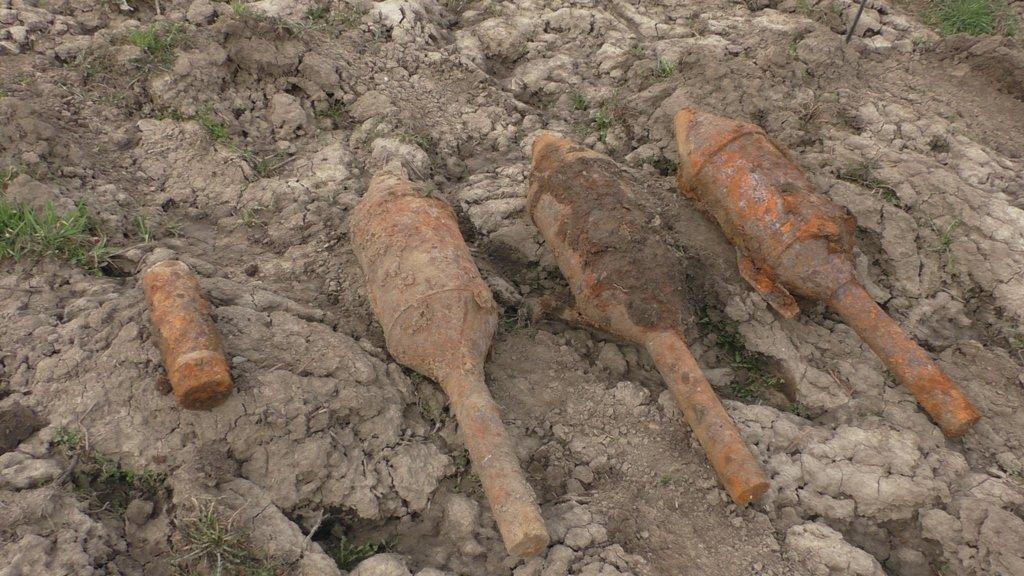 Буковинські піротехніки знищили авіабомбу, міни та снаряд часів Першої світової війни (Фото), фото-1