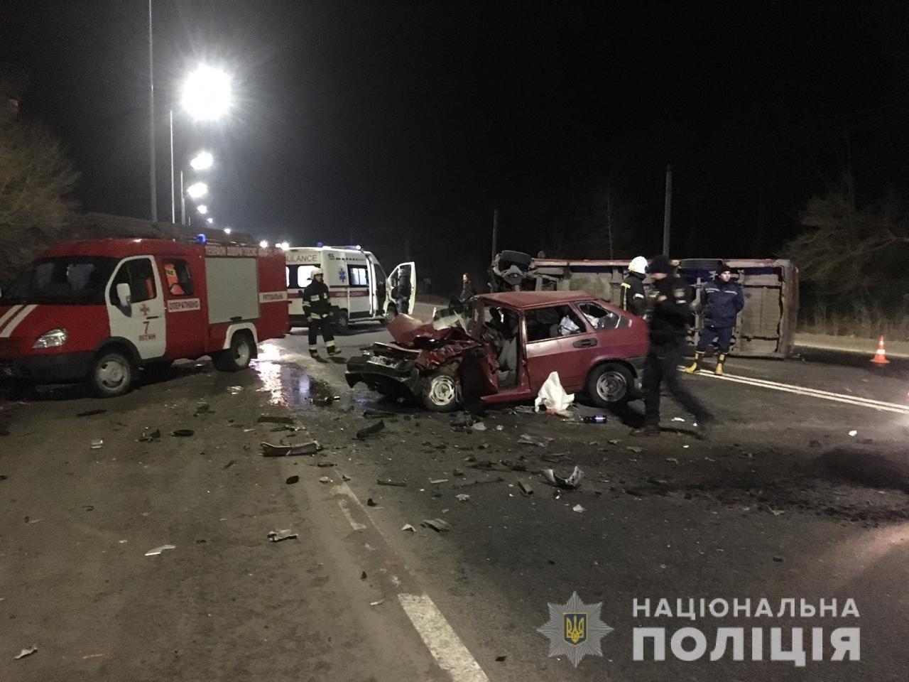 В масштабній аварії на Вінничині загинув літній чернівчанин, фото-2