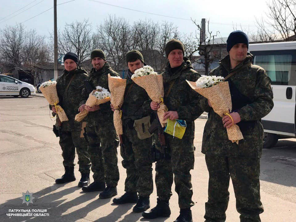 Буковинські поліцейські повернулись додому із зони ООС , фото-2
