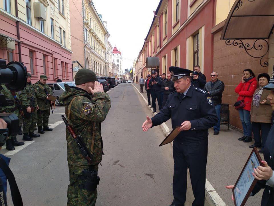 Буковинські поліцейські повернулись додому із зони ООС , фото-3