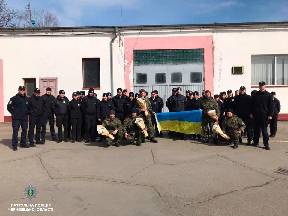 Буковинські поліцейські повернулись додому із зони ООС , фото-4