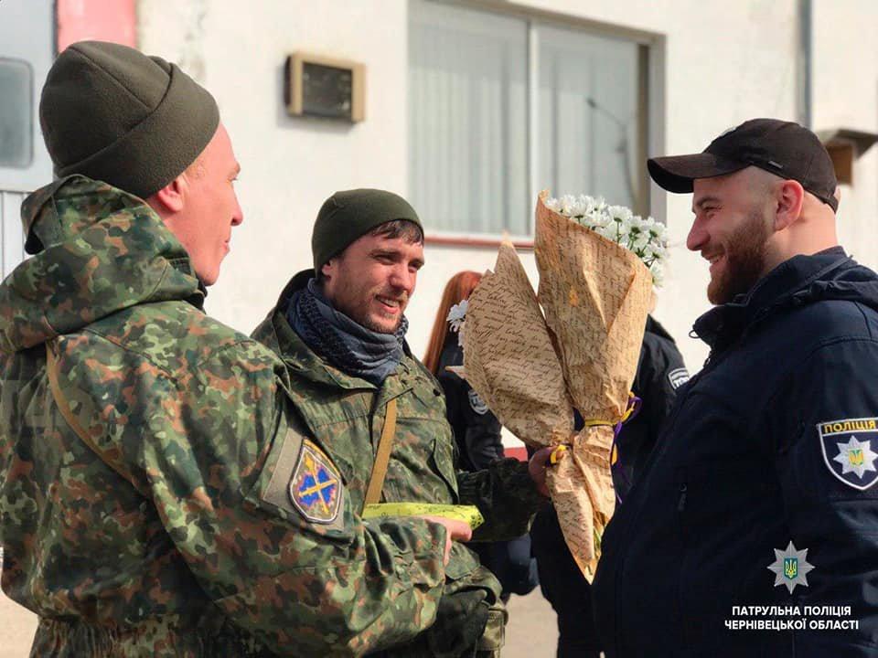 Буковинські поліцейські повернулись додому із зони ООС , фото-5
