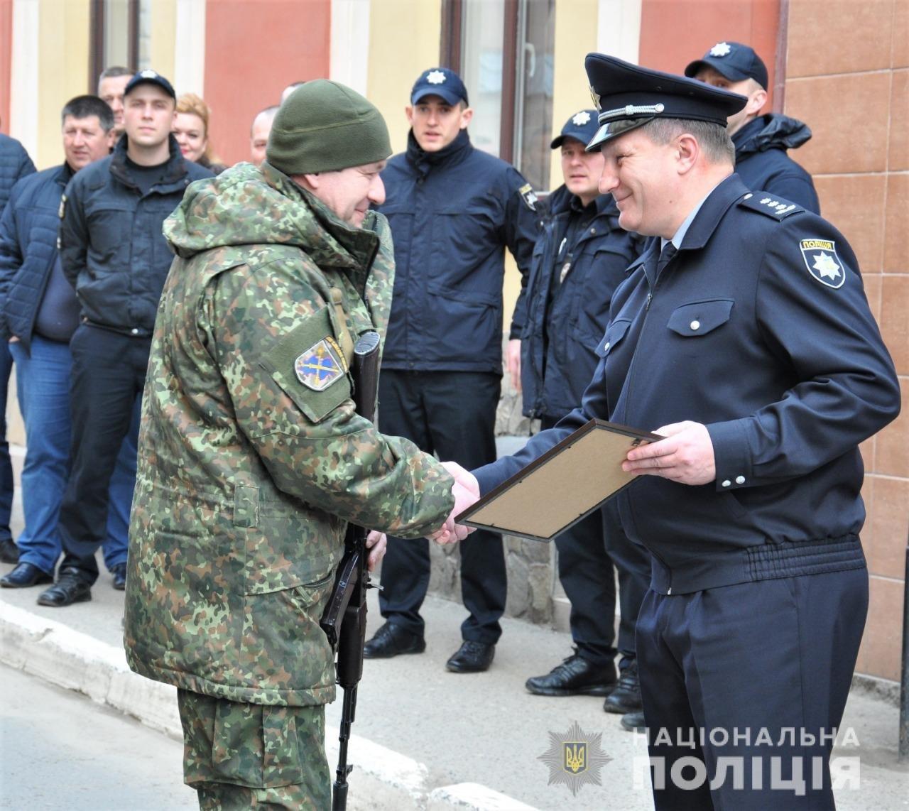 Буковинські поліцейські повернулись додому із зони ООС , фото-9