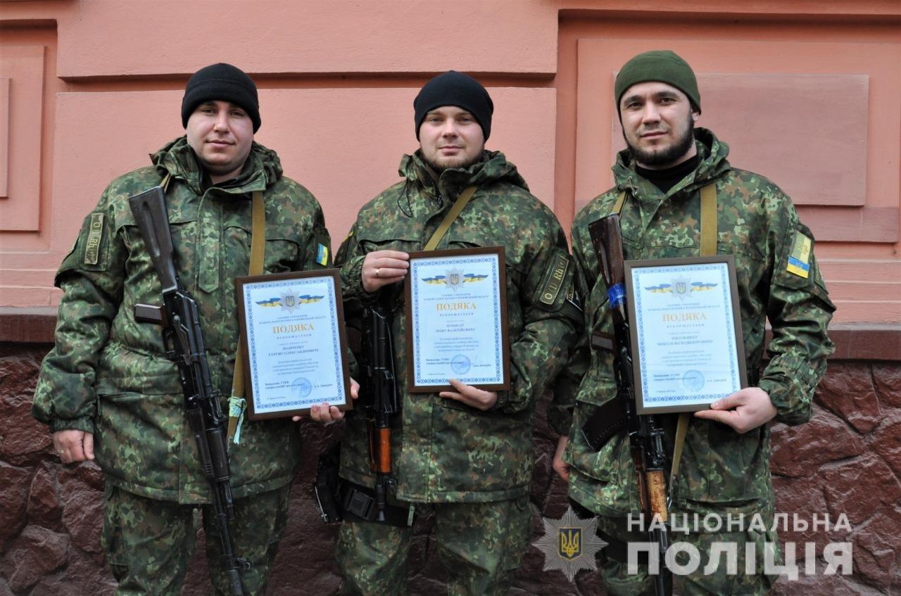 Буковинські поліцейські повернулись додому із зони ООС , фото-13
