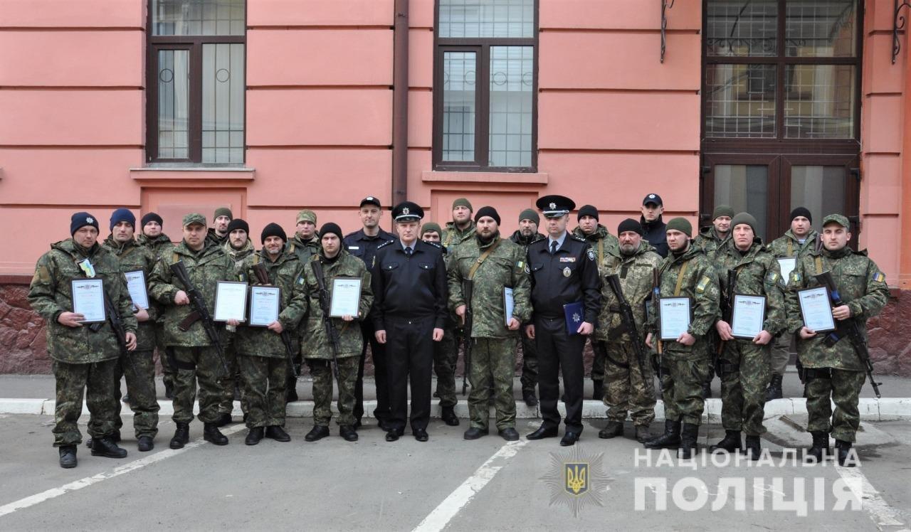 Буковинські поліцейські повернулись додому із зони ООС , фото-14