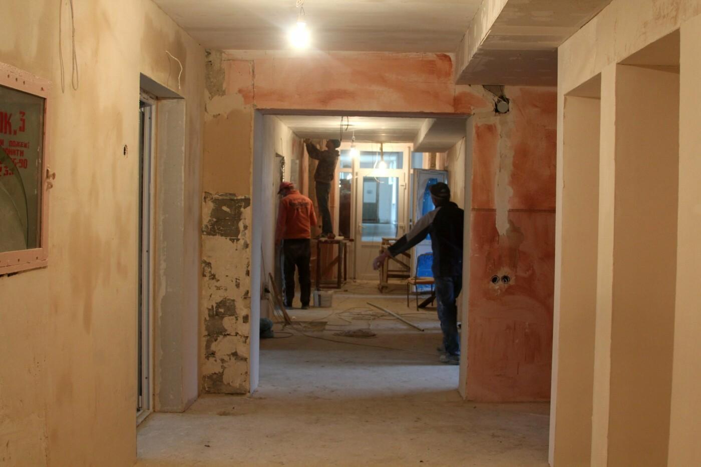 В Чернівцях реконструкція відділення радіології у онкодиспансері наближається до фінальної стадії, фото-1