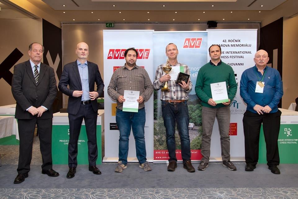Буковинський шахіст серед 10 кращих на Prague International Chess Festival 2019, фото-1