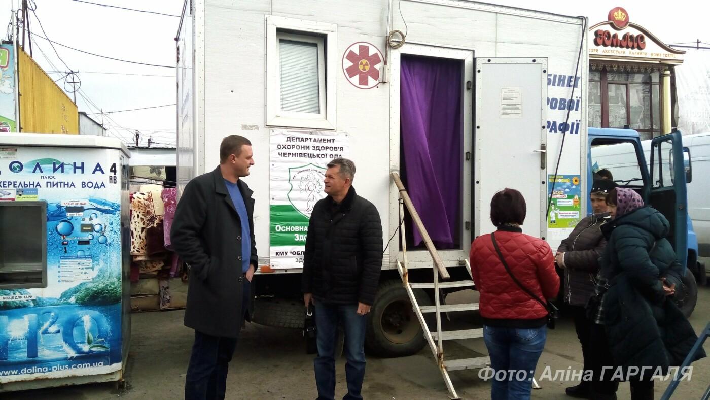 В Чернівцях понад 120 осіб безоплатно обстежили свої легені, фото-7