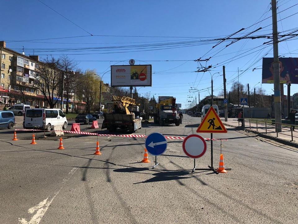 В Чернівцях розпочався ремонт іншої смуги на проспекті Незалежності, фото-1