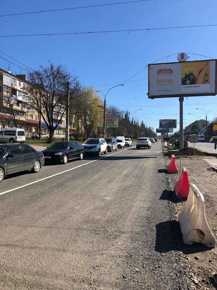 В Чернівцях розпочався ремонт іншої смуги на проспекті Незалежності, фото-3