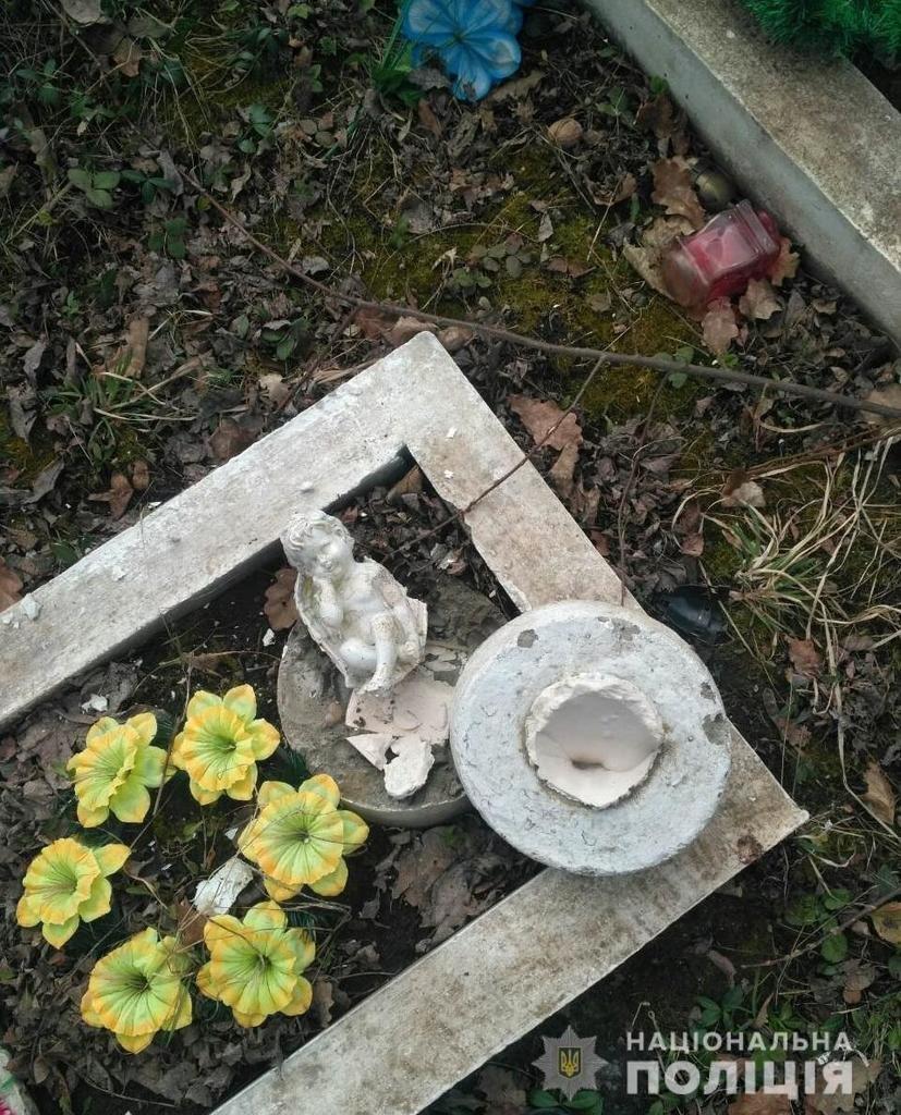 Нанесли шкоду 8 похованням: на Буковині розшукують вандалів , фото-1