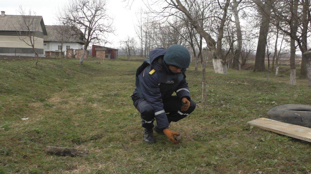 На Буковині чоловік на власному подвір'ї виявив ручну гранату, фото-2