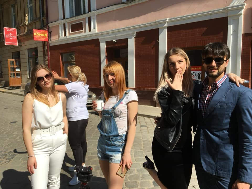 В центрі Чернівців знімають містичний фільм, фото-1