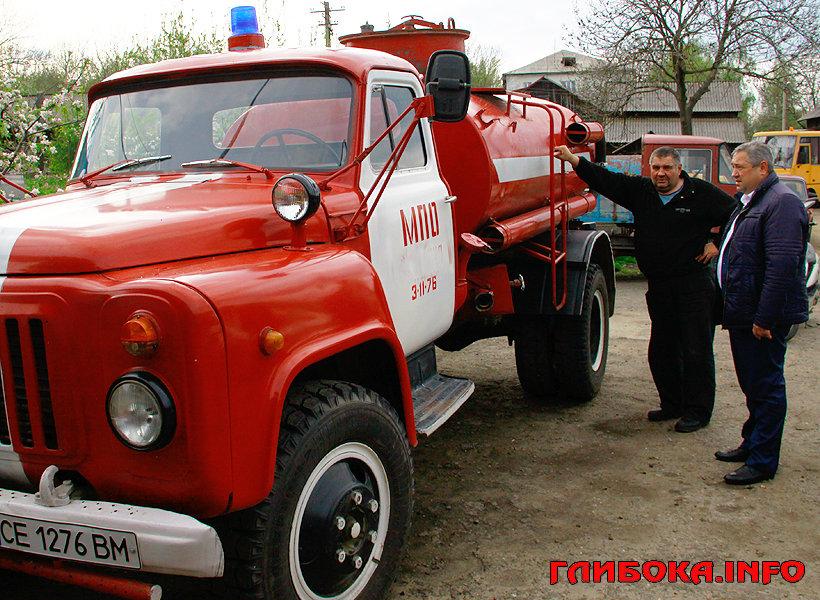 На Буковині пожежна частина села Черепківці отримала автомобіль, фото-1