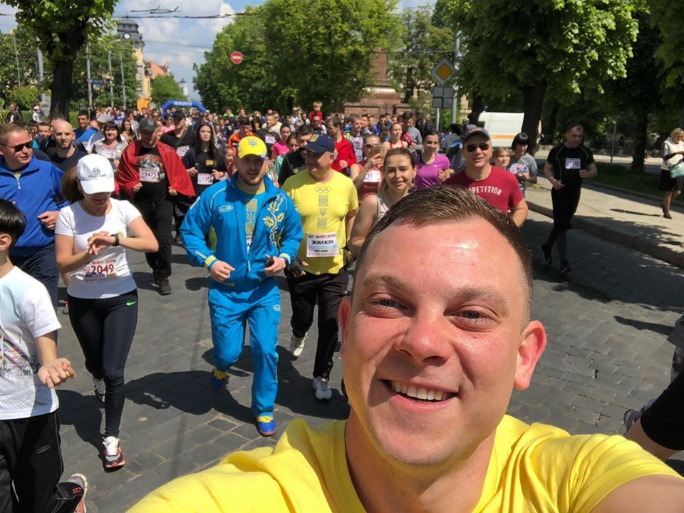 """В Чернівцях відбувся щорічний марафон """"Біг миру"""", фото-23"""