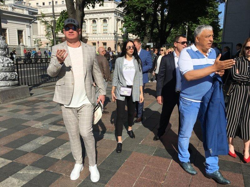 Чернівецького депутата помітили на інавгурації президента, фото-1