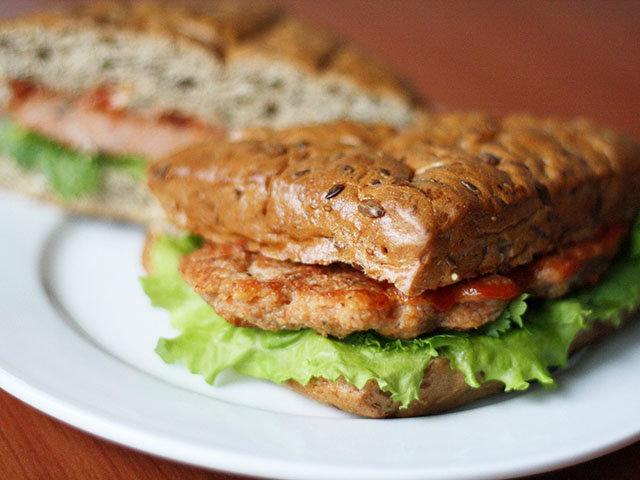 Сендвіч з котлетою