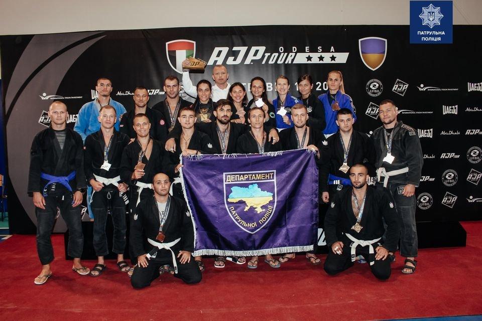 Збірна патрульної поліції України, міжнародні змагання з джиу-джитсу