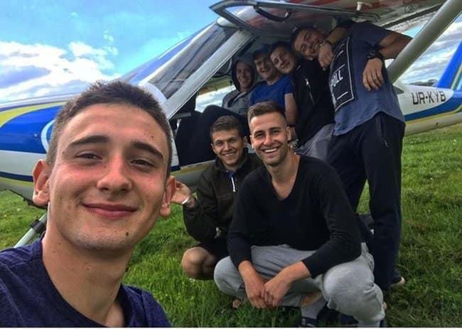 У мережі з'явились фото деяких курсантів, що були на борту під час авіакатастрофи Ан-26  , фото-2, Фото facebook.com/anton.gerashchenko.7