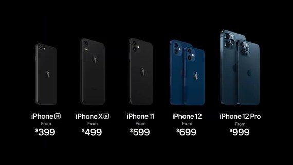 Ціни на нові  iPhone