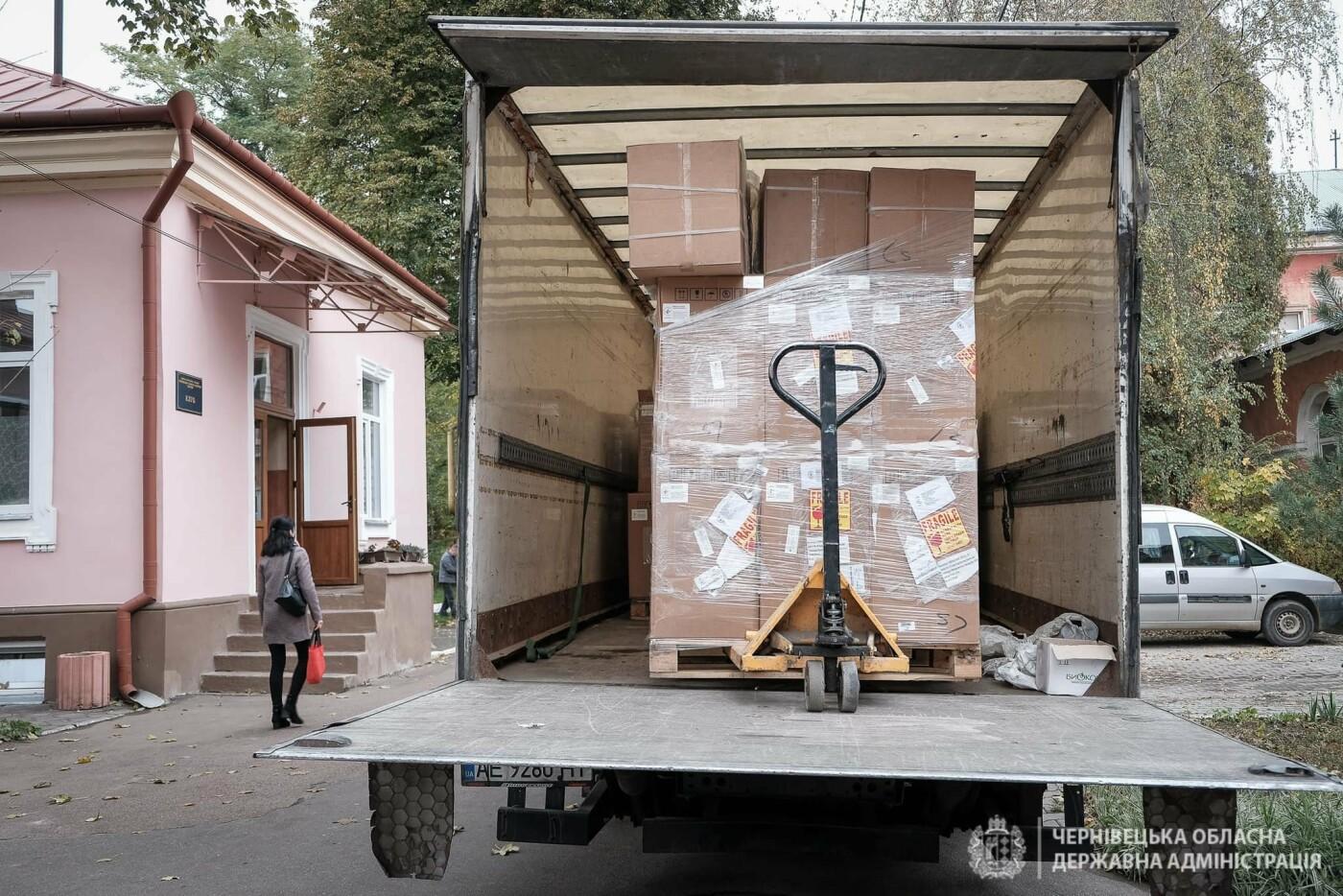 Кисневі концентратори для потреб Чернівецької області, ОДА