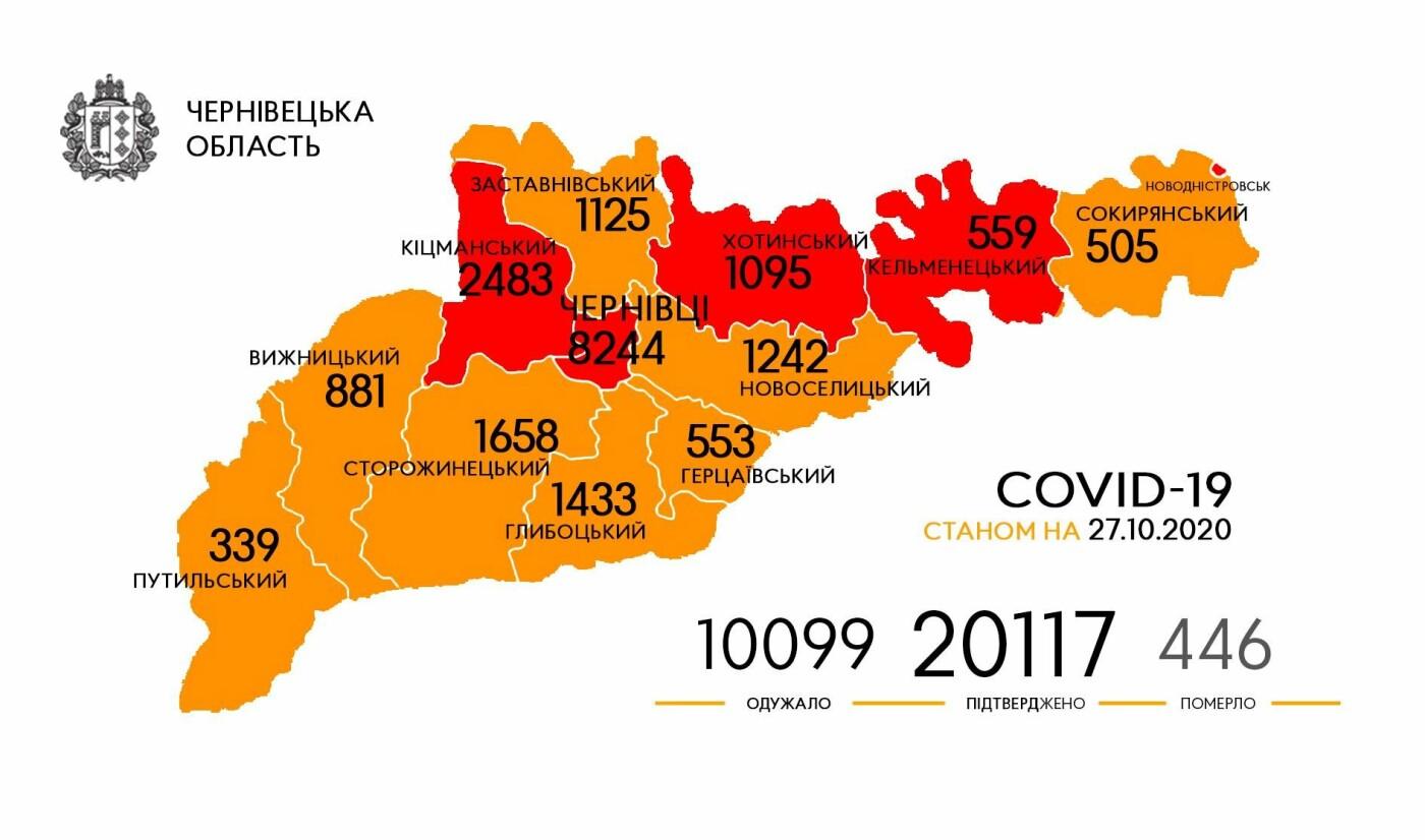 Географія поширень коронавірусу