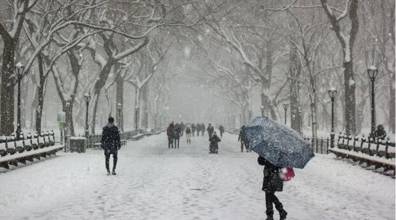 На Луганщині випало до 8 см снігу