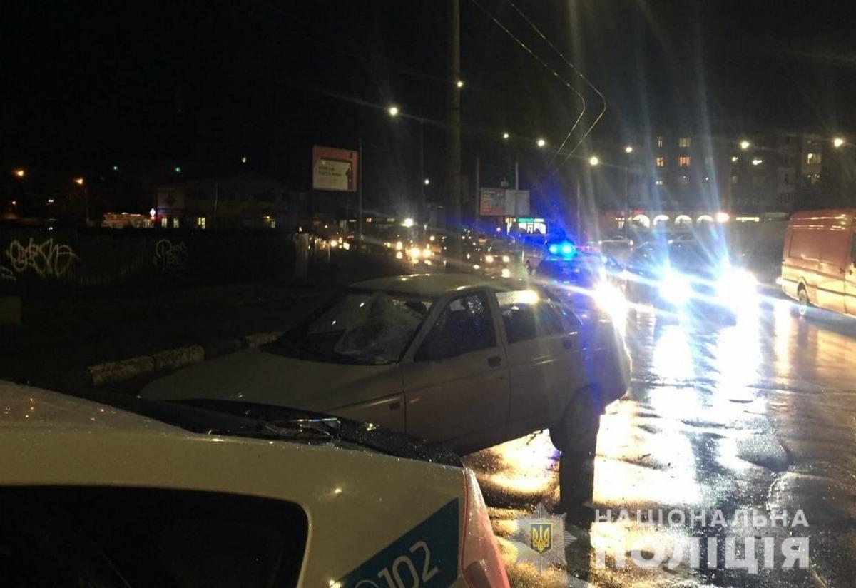 ДТП у Чернівцях, фото з сайту поліції Чернівецької області