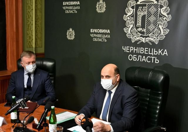 Засідання напередодні сесії Чернівецької ОДА