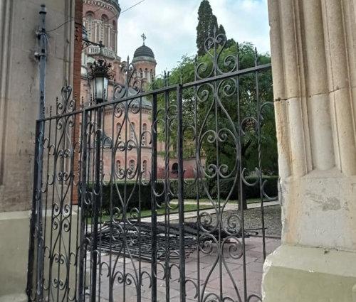 Тимчасові ворота ЧНУ