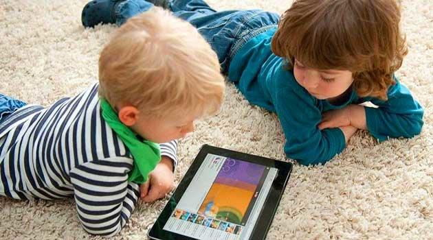 більшість екранного часу дітей припадає на розваги. а не навчання