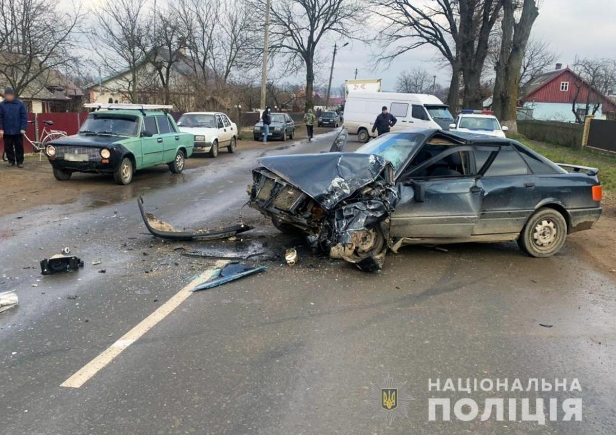 У ДТП в м. Сторожинець травмувався водій іномарки