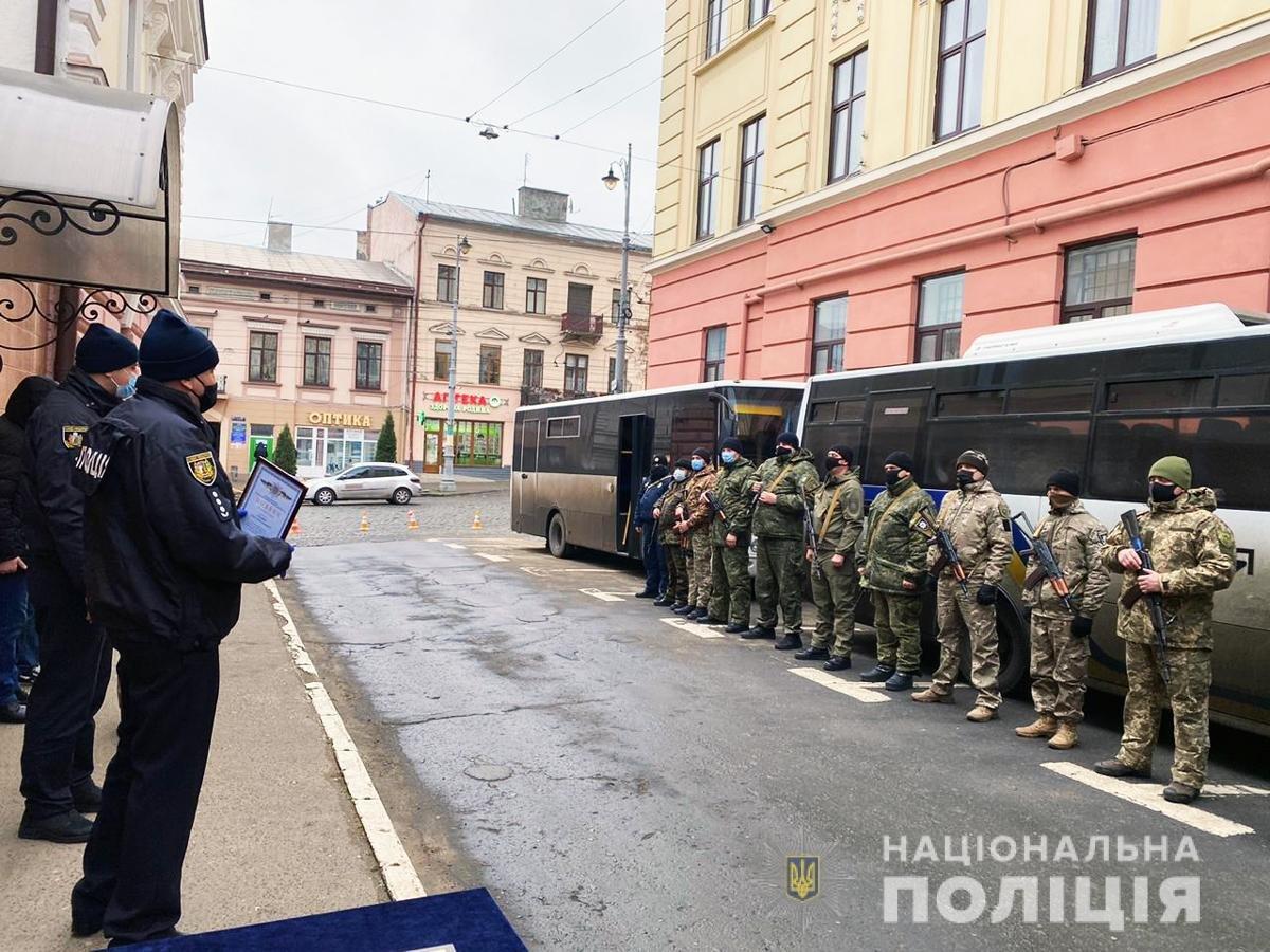 Правоохоронці повернулися із зони ООС
