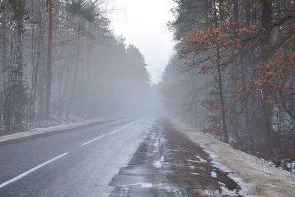 Водіїв просять бути обачними через погіршення погодних умов
