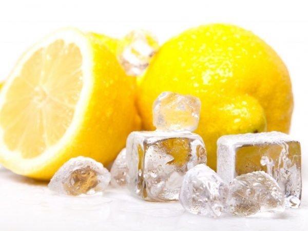 Антиоксидантна дія свіжих лимонів стає ще більш яскраво вираженою після заморозки