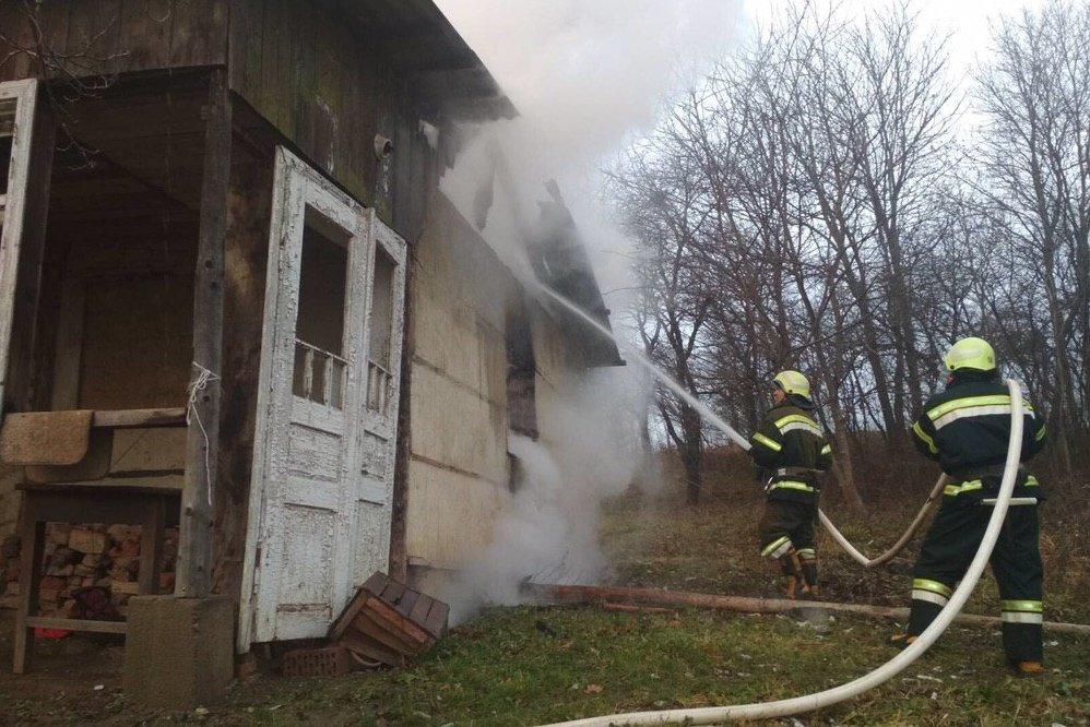 Пожежі на Буковині