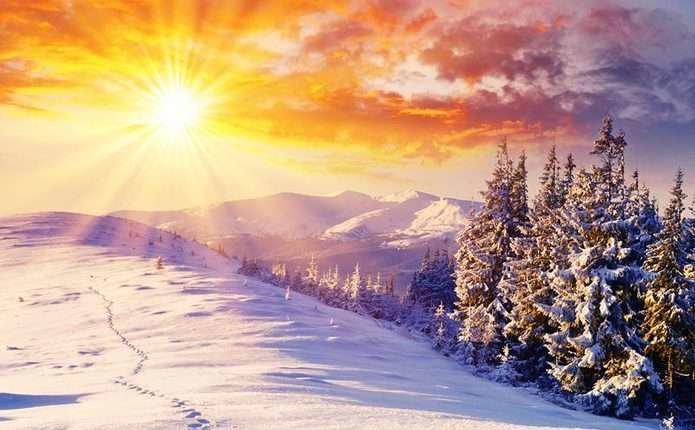 сонцестояння відбувається, коли Північний полюс відхилений найдалі від Сонця