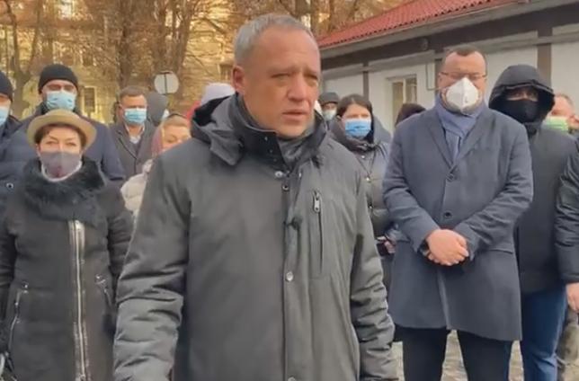 Роман Клічук прийшов до суду