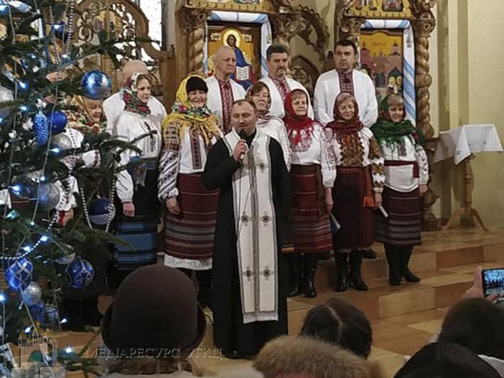 отець Василь Гасинець на богослужінні