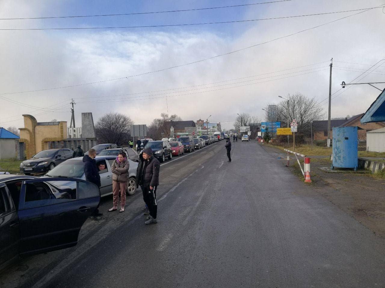 На Буковині люди перекрили дорогу через підняття цін на газ, фото-1