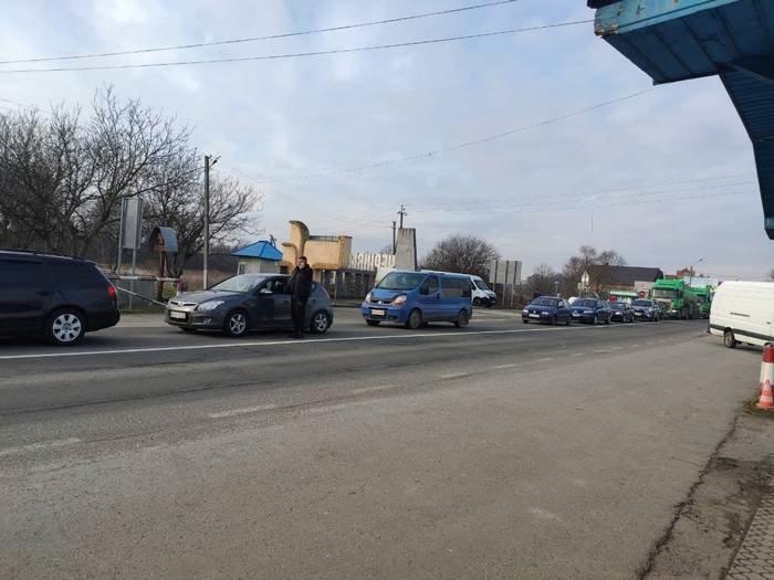 Протести проти підвищення цін на газ на Буковині