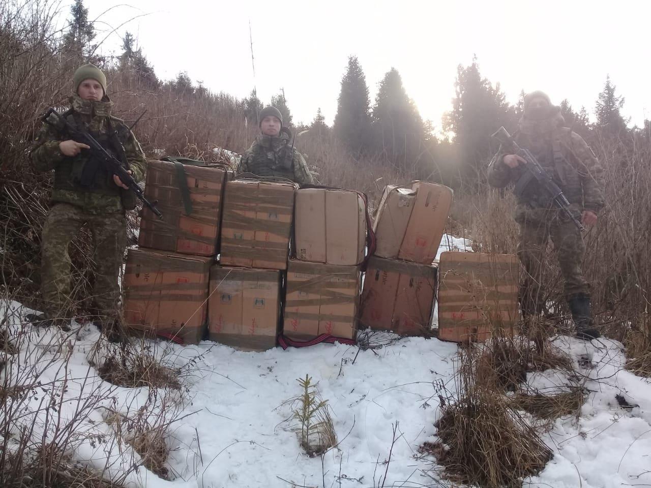 контрабанда, фото Державної прикордонної служби України