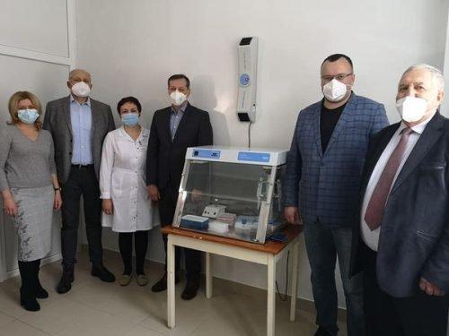 відкриття нової лабораторії, фото з сайту Чернівецької міськради