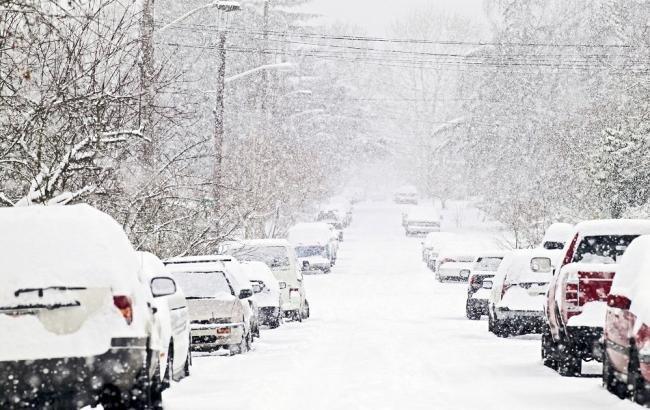 снігопад, фото з відкритих джерел