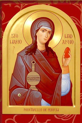 Марія Магдалина з яйцем